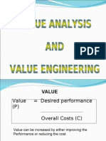 Value Analysis and Value Engineering