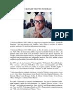 Biografia de Vinicius de Moraes