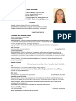 Curriculum en Espanol Pauli