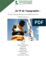 topographie T§P