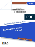 La Correspondance Sociale