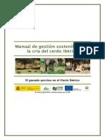 Manual para gestión de la cria del cerdo ibérico