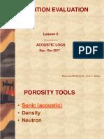 Formation Evaluation - Porosity Tool
