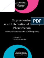 Epdf.pub Expressionism as an International Literary Phenome