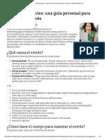 Para Adolescentes_ Una Guía Personal Para Manejar El Estrés - HealthyChildren.org
