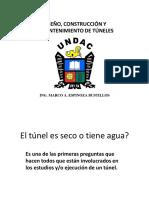 Túneles_Influencia Del Agua en Tuneles