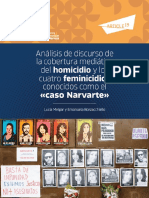"Informe Análisis Del Discurso ""caso Narvarte"""