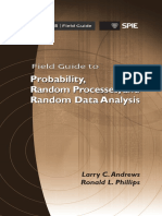 Field Guide to Probability Random Processes and Random Data Analysis