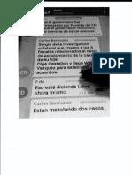 Revelan 97 páginas de otro chat de Telegram