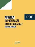 Apostila Alexandre Carvalho GuitarraJazz