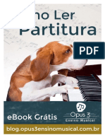 eBook Como Ler Partituras