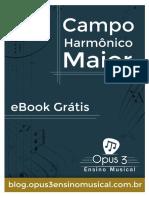 eBook Campo Harmônico Maior