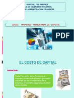 2. El Costo de Capital