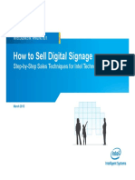 How to Sell Digital Signage Presentation