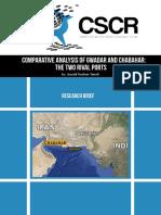 Gwadar vs Chabahar