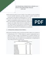 Especificación Estándar Para Fundición de Acero de Alta Resistencia