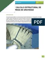 Diseño y Cálculo Estructural de Presa de Gravedad.docx