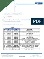 CE 089 2019 - Alteração de Part Number (Sufixo E)