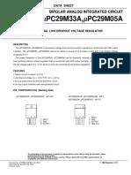 data sheet regulador de tensão