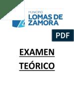 Examen Teórico
