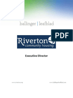 Riverton Community Housing - Executive Director
