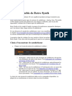 Manual Del Retro Synth Logic