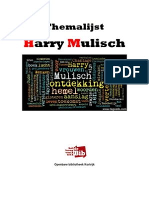 Themalijst Harry Mulisch