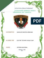 Caso Practico - So3 Pnp Tochon Chuqui Elar - Corrupcion en La Pnp