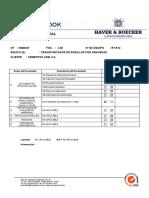 Pos. 1.28 - Transportador de Rodillos Por Gravedad