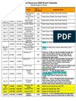 8-19Boulder Reservoir 2019 Event Calendar