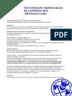 Dettagli Gara Blu Edition 2019