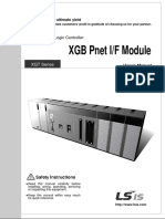 manual de usuario de PLC XGT Series