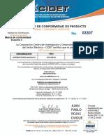 3300 Certificado Interruptores Manuales Lineas Ave Colombiana