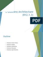 Oracle eBusiness Suite Architecture