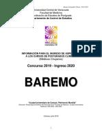 Baremo Pgclinicos 2019 2020