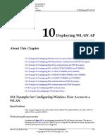 01-10 Deploying WLAN AP