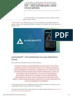 PostmarketOS - Uma Distribuição Linux Para Dispositivos Móveis