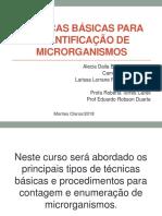 Técnicas básicas para quantificar microrganismos
