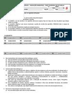 2019 - 1bim - Avaliação Bimestral Comunicação Mercadológica