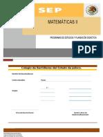 programa de estudio y planeacion didactico