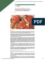 Efecto Del Tiempo de Maduración Sobre La Calidad Organoléptica de La Carne de Vacuno. Servicio Regional de Investigación y Desarrollo Agroalimentario