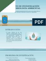 Proyecto de Investigación de Microbiología Ambiental