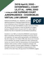 g.r. No. 125018 April 6, 2000 - Remman Enterprises v. Court of Appeals, Et Al.