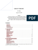 31356298 Milne Group Theory