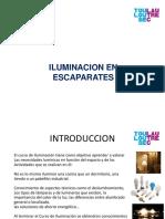 Iluminación en Escaparates