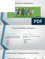 Human Behavior in Organisations - Chapter 2 - Diversity