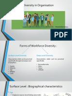 Human Behavior in Organisations - Chapter 2 - Diversity
