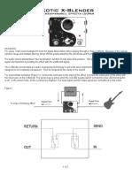 X Blender Manual