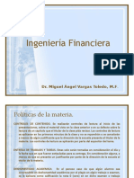 Ingeniería Financiera 2018