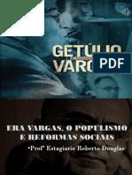 Slide -  Getúlio vargas